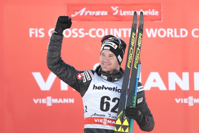 Dario Cologna è balzato in testa alla classifica del Tour de Ski